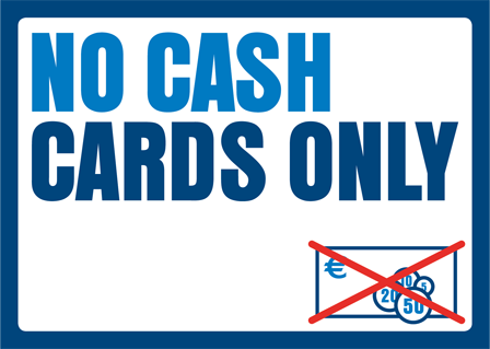 No Cash Cards Only